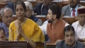 Watch: Dal Lake mein kamal jaisa...Nirmala Sitharaman recites Kashmiri poem in Budget 2020 speech