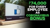 Coronavirus Outbreak: Facebook is giving out $1,000 bonus to its 45,000 employees
