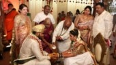 HD Kumaraswamy's son marries Karnataka Congress leader's daughter amid coronavirus lockdown