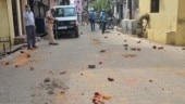 Drone visuals show mob pelting stones at health workers in UP's Moradabad
