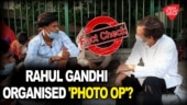 Was Rahul Gandhi's meeting with migrants a 'staged photo-op'?