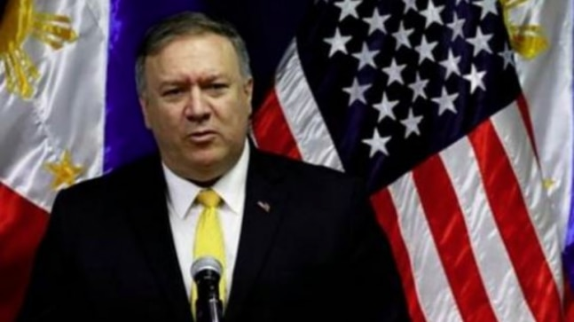 Hong Kong no longer autonomous from China: Mike Pompeo