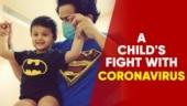 How is a child battling Coronavirus?