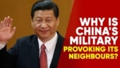 Why is China showing aggression towards its neighbours?