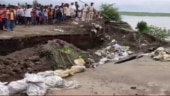 Bihar: Now, road connecting to a bridge caves in