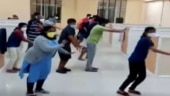 Watch: Covid-19 patients dance in Karnataka's Ballari hospital, video goes viral