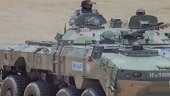 Watch: Made in India eight-wheeled armoured vehicles deployed in Leh