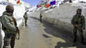 Indian troops remove Chinese surveillance equipments from Kala Top at Pangong