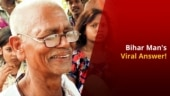 Bihar Elections 2020: This Elderly Man Gave an Honest Answer And Had The Netizens in Splits