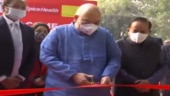 Amit Shah inaugurates mobile RT-PCR testing lab
