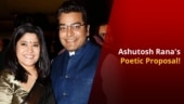 How did Ashutosh Rana propose to his wife Renuka Sahane?