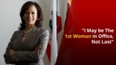 Kamala Harris, The First Woman Elected Vice President, Says She 'Will Not be The Last'