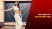 Janhvi Kapoor Belly Dances to Asoka Song