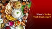 Bullet Thali Challenge: You Can Win Bullet by Eating This 4kg Thali