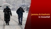 Jammu And Kashmir Turns White After Receiving Snowfall