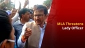 Congress MLA Publicly Threatens Woman Govt. Officer in MP