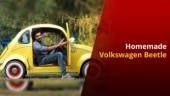 Kerala Man Builds His Own Volkswagen Beetle