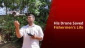 Drone User Helps Rescue Drowning Fishermen