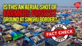 Fact Check: Is this an aerial shot of farmers protest ground at Singhu border?