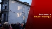 House in San Francisco Relocated to Another Address