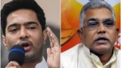 TMC VS BJP: Abhishek Banerjee accuses Dilip Ghosh of 'insulting Goddess Durga'