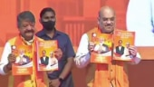 Amit Shah releases BJP's manifesto for Bengal election