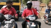 Tamil Nadu man rides scooter blindfolded to campaign for AIADMK candidate