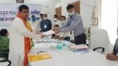 Watch: Suvendu Adhikari files nomination from Nandigram