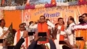 Watch: TMC leader who joined BJP performs sit-ups on stage