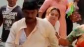 Bengal elections: Clashes erupt between BJP, TMC workers in Baranagar