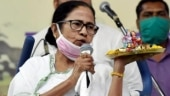 Mamata outside booth in Nandigram, says outsiders brought to create chaos