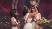 Mrs World 2019 snatches Sri Lankan pageant winner's crown off her head. Watch