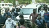 TMC supporters protest outside CBI office in Kolkata over arrest of top leaders