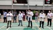 Doctors' association protest over Yoga guru Ramdev's remarks, observe 'black day'