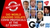 Fact Check Video: Did world leaders violate Covid-19 protocols at G7 summit?