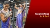 How Pune Lady Who Lifts Weight In A Saree Is Grabbing Eyeballs