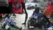 Watch: Shiv Sena MLA makes contractor sit on waterlogged street