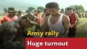Jammu and Kashmir: Over 500 youths take part in Army's recruitment rally in Reasi