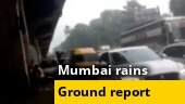 Mumbai: Heavy rains cause waterlogging in Jogeshwari, traffic movement hit