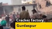 23 killed in Gurdaspur cracker factory blast