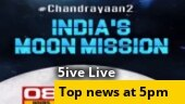 Countdown begins for Chandrayaan-2's Moon landing; Another IAS officer quits service; more