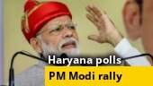 PM Modi sounds poll bugle in Haryana, addresses a rally in Rohtak