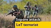 Top Lashkar terrorist Asif Maqbool Bhat, who was behind Sopore attack, killed