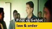 Sachin pilot vs Ashok Gehlot: Pilot slams Rajasthan's law and order situation