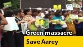 Mumbaikars stage Save Aarey protest to save city's last green lung