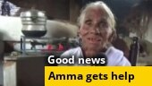 Good news: Help pours in for Tamil Nadu's Idli Amma