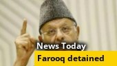 Is Farooq Abdullah's detention a matter of national security?