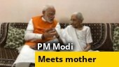 PM Modi 69th birthday: PM meets mother, seeks blessings, eats maa ke hath ka khaana