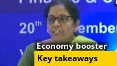 FM Nirmala Sitharaman cuts corporate taxes for domestic, new manufacturing companies