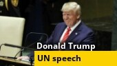Watch: Donald Trump's full speech at UN General Assembly
